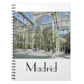 Palacio cristalino cuaderno de Madrid