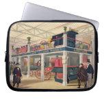 Palacio cristalino, la corte agrícola (coloreada l fundas portátiles