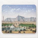 Palacio cristalino, Sydenham, c.1862 (litho del co Alfombrillas De Ratones