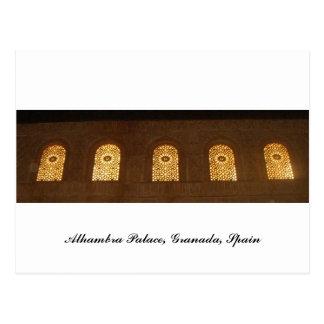 Palacio de Alhambra, Granada, Andalucía, España Postales