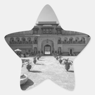 Palacio de B&W Chomu Pegatina En Forma De Estrella