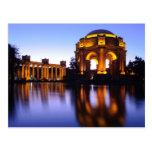 Palacio de bellas arte postal