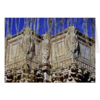 Palacio de bellas arte tarjeta de felicitación