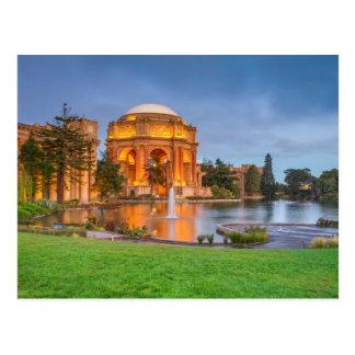 Palacio de bellas arte tarjeta postal