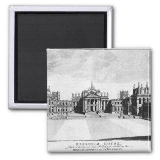 Palacio de Blenheim Imán Cuadrado