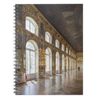 Palacio de Catherine, detalle del gran pasillo Cuadernos