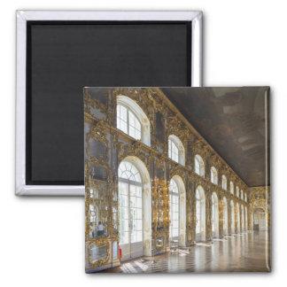 Palacio de Catherine, detalle del gran pasillo Imán Cuadrado