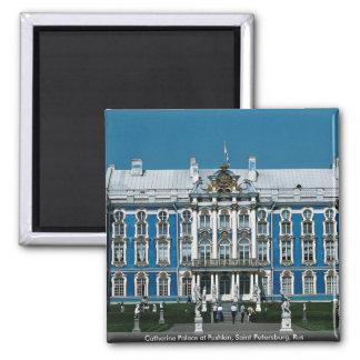 Palacio de Catherine en Pushkin, St Petersburg, Imán Cuadrado