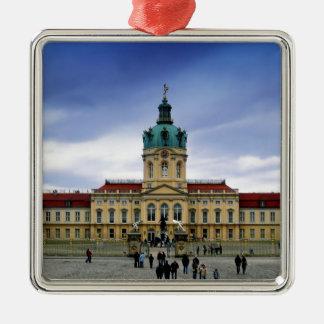 Palacio de Charlottenburg, Berlín Adorno Navideño Cuadrado De Metal