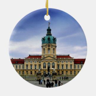 Palacio de Charlottenburg, Berlín Adorno Navideño Redondo De Cerámica