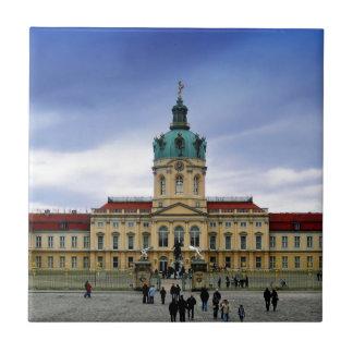 Palacio de Charlottenburg, Berlín Azulejo Cuadrado Pequeño