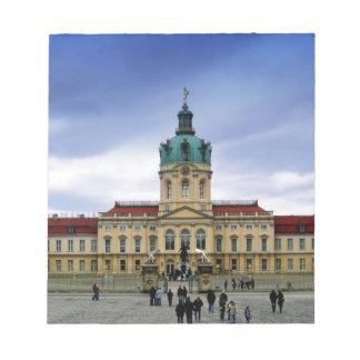 Palacio de Charlottenburg, Berlín Blocs De Notas