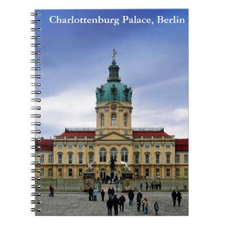 Palacio de Charlottenburg, Berlín Libreta Espiral