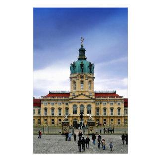 Palacio de Charlottenburg, Berlín Papeleria