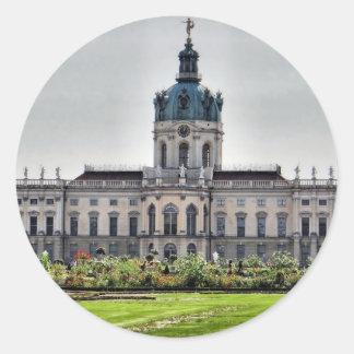 Palacio de Charlottenburg, Berlín Pegatina Redonda