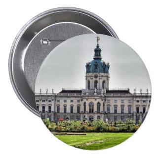 Palacio de Charlottenburg, Berlín Pin Redondo De 3 Pulgadas