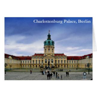 Palacio de Charlottenburg, Berlín Tarjeta De Felicitación