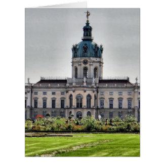 Palacio de Charlottenburg, Berlín Tarjeta De Felicitación Grande