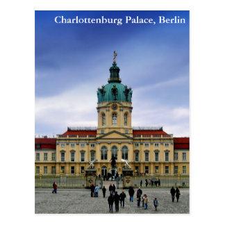 Palacio de Charlottenburg, Berlín Tarjeta Postal
