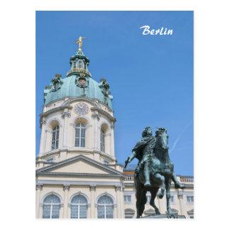 Palacio de Charlottenburg en Berlín Postal