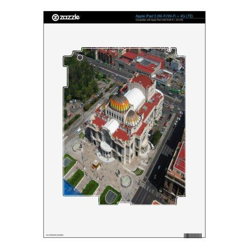 Palacio de Ciudad de México de bellas arte iPad 3 Skin