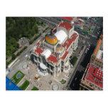 Palacio de Ciudad de México de bellas arte Tarjetas Postales