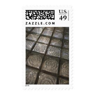 Palacio de Communicaciones, glass flooring Postage Stamps