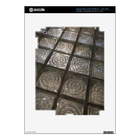 Palacio de Communicaciones, glass flooring Skin For iPad 3