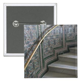 Palacio de Communicaciones, Moorish tiles Button