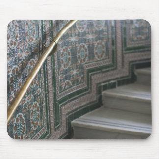 Palacio de Communicaciones, Moorish tiles Mouse Pad