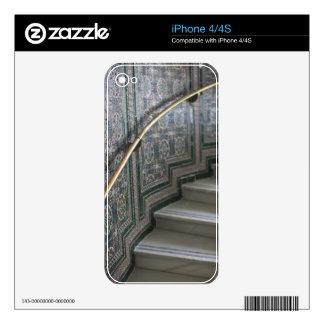 Palacio de Communicaciones, Moorish tiles Skins For iPhone 4S