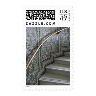 Palacio de Communicaciones, tejas del Moorish Timbres Postales
