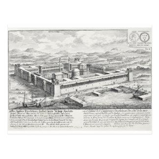 Palacio de Diocletian (245-313), fractura, Postal