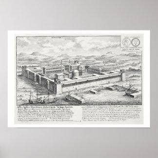 Palacio de Diocletian (245-313), fractura, Yugosla Impresiones
