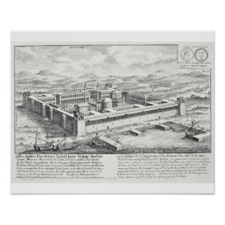 Palacio de Diocletian (245-313), fractura, Yugosla Poster