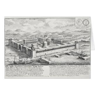 Palacio de Diocletian (245-313), fractura, Yugosla Tarjeta De Felicitación