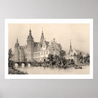 Palacio de Frederiksborg Póster