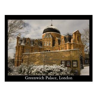 Palacio de Greenwich Londres Tarjeta Postal