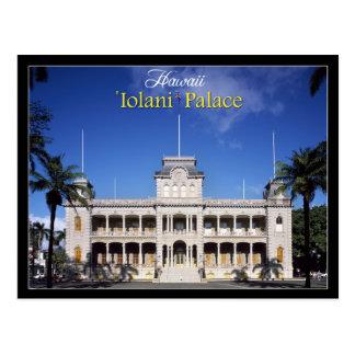 Palacio de Iolani en Honolulu, Hawaii Tarjeta Postal