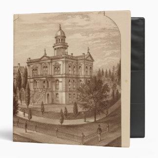 """Palacio de Justicia del condado de Tulare Carpeta 1 1/2"""""""