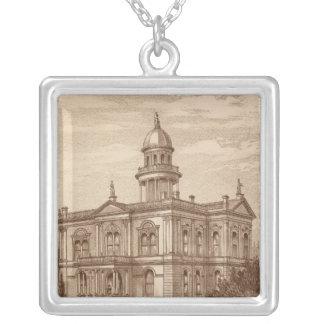 Palacio de Justicia del condado de Tulare Collar Plateado