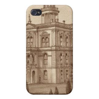 Palacio de Justicia del condado de Tulare iPhone 4/4S Carcasas
