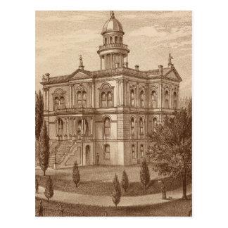 Palacio de Justicia del condado de Tulare Postales