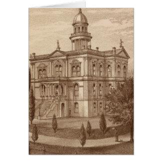 Palacio de Justicia del condado de Tulare Tarjeta De Felicitación