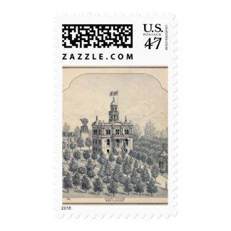Palacio de Justicia, Fresno Sellos Postales