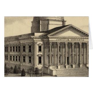 Palacio de Justicia, Santa Clara Co Tarjeta De Felicitación