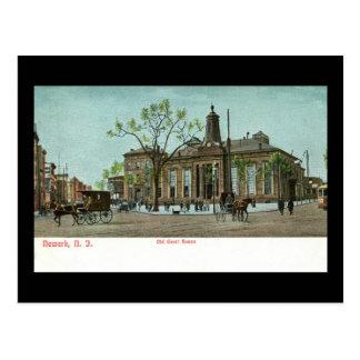 Palacio de Justicia viejo, Newark, vintage de NJ c Postal