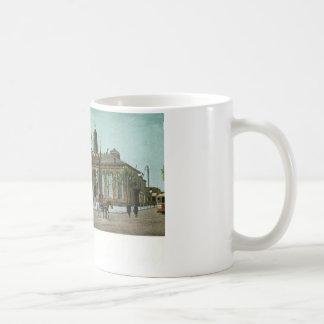 Palacio de Justicia viejo, Newark, vintage de NJ c Taza De Café