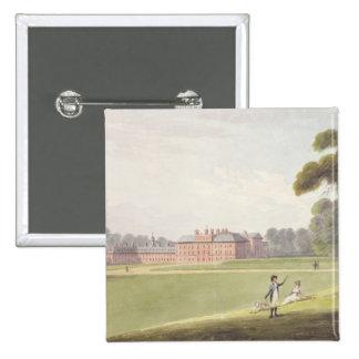 Palacio de Kensington Pin Cuadrado