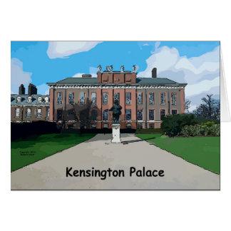 Palacio de Kensington Tarjetón
